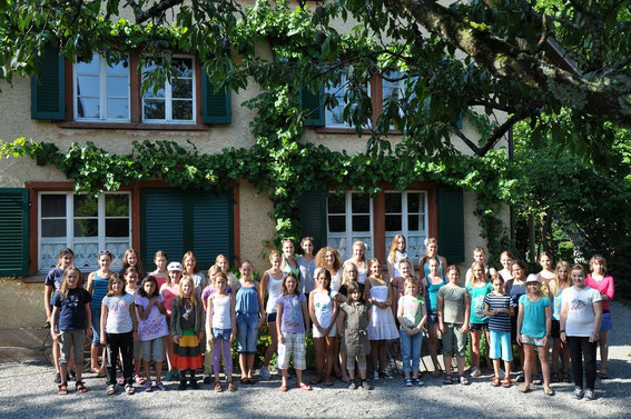 Gruppenbild, Lager 2012 in Beinwil am See