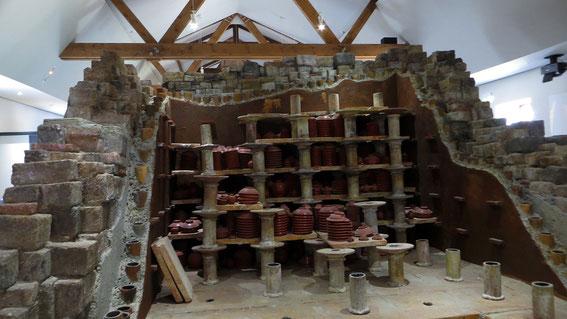 Four pour la cuisson de la céramique sigilée