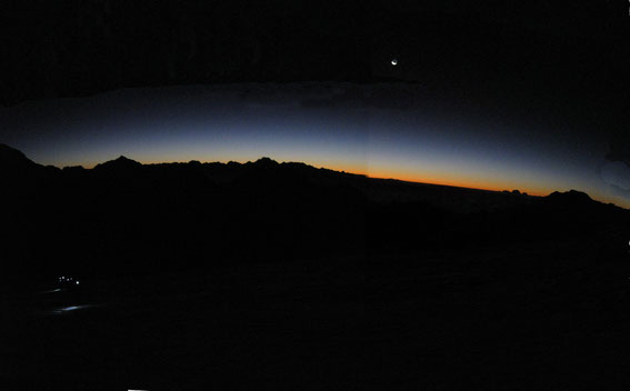 Sunrise from Mera Peak