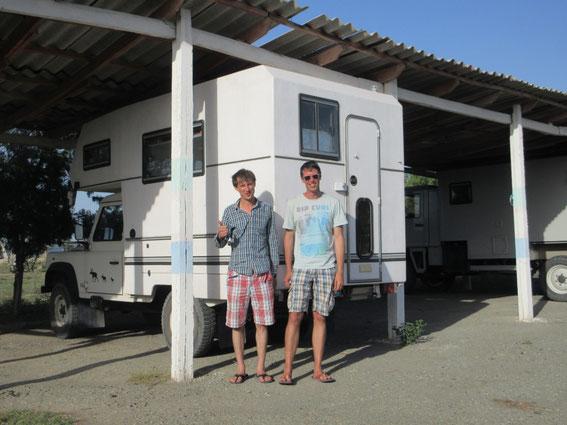Henri und Olivier aus Frankreich