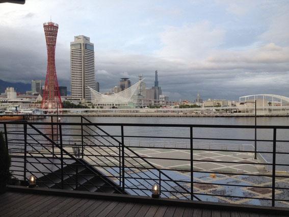 神戸 モザイク周辺からの眺め