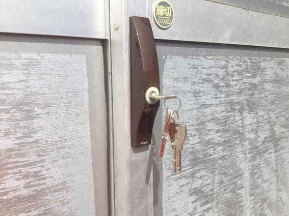 MIWAPS引違い戸鍵