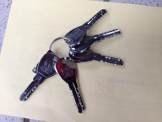 古代(KODAI)装飾錠の鍵