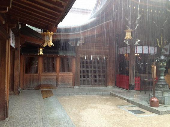 博多といえば櫛田神社