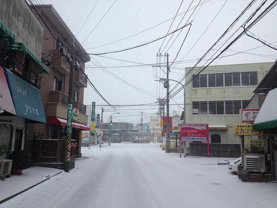 カギの救助隊福岡南本店の前の道路