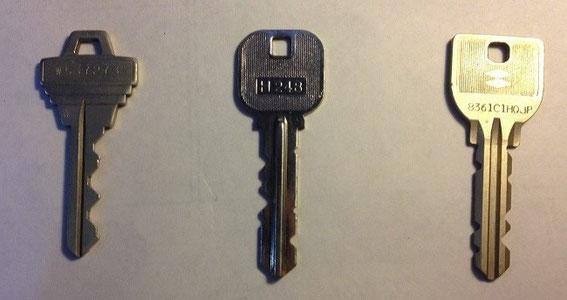 鍵の種類img
