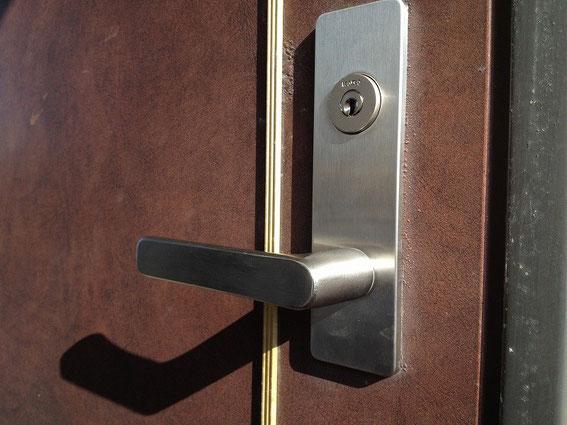 鍵と錠前の交換後