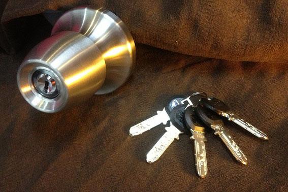 ドアノブ式の鍵カバスターネオ6600h