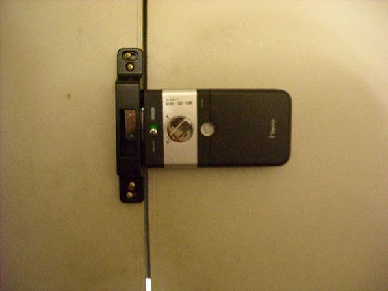デジタルロックV10室内側