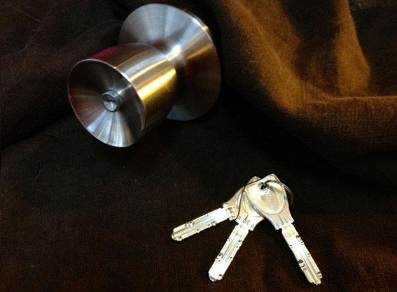 鍵交換用ドアノブ美和ロックPRHM