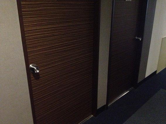 ホテルの鍵(ステンレスノブ)