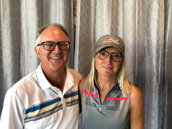 2018 Couples Champions Gross Score - Dave and Joan Murrell