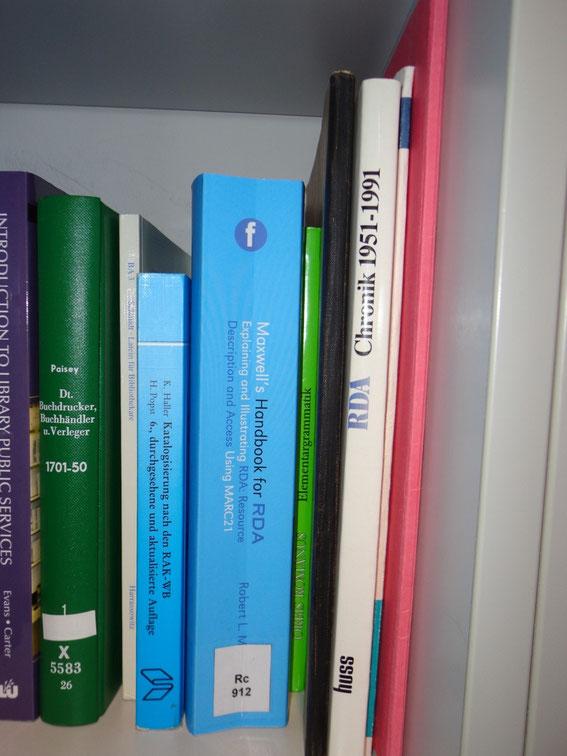 """Abbildung zeigt neben Haller und Maxwell einen Buchrücken mit der Aufschrift """"RDA Chronik 1951-1991"""""""