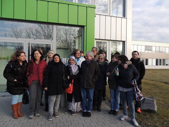 Schüler und Lehrer und AGR