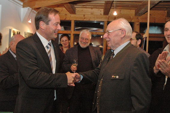 Dr. Martin Michalitsch, Bgm. Paul Horsak, Leopold Wanderer