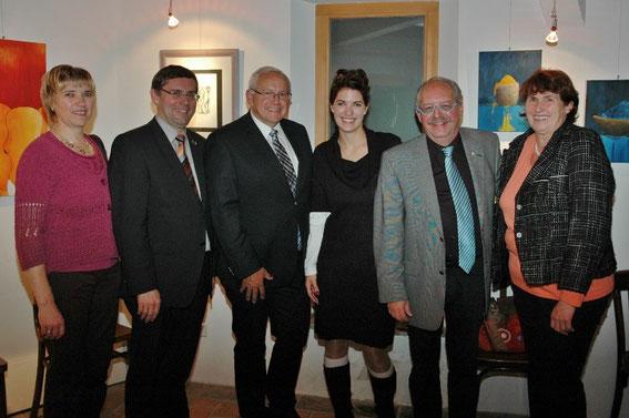 Christine & Hans Dill, NR. Johann Hell, Birgit Lefebvre, Karl J. Mayerhofer, Maria Rollenitz
