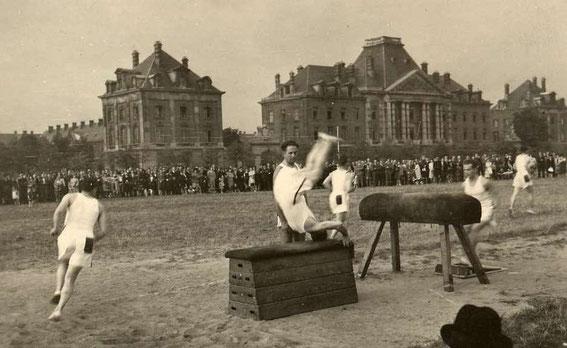 Caserne de Witte de Haelen et plaine des manoeuvres, source 4
