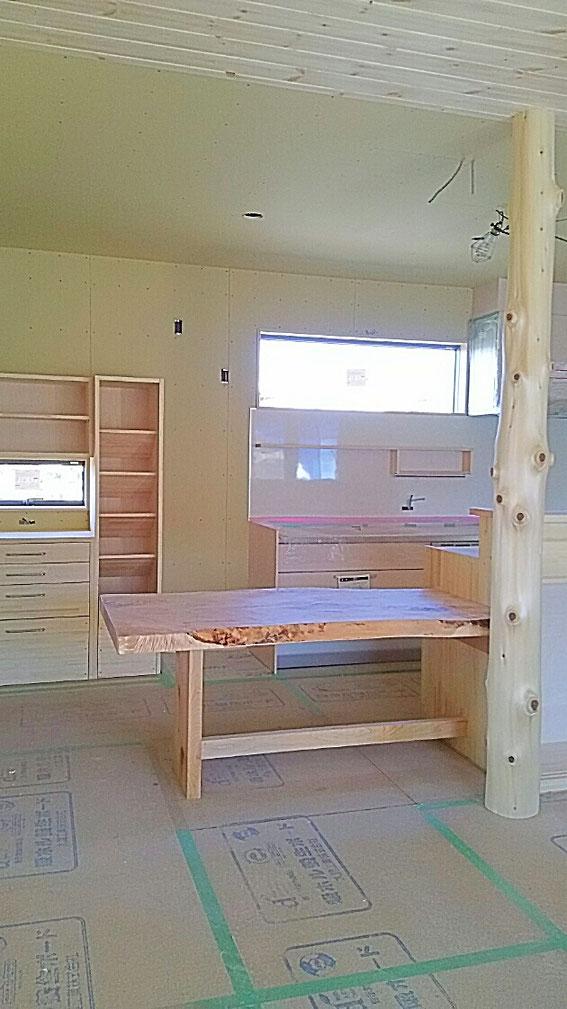 家具のいらない家造り 大工が自信をもって建てる家