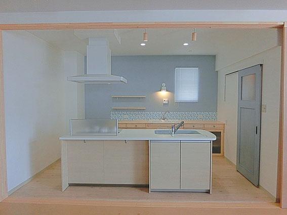 キッチンコーディネート 完全オーダー 美濃加茂 大工と造る木の家