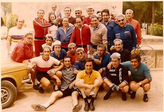 1ª Ruta de Goya,  año 1975