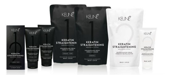 KEUNE KERATIN SMOOTHING TREATMENT Glättung brasilian keratin straightening treatment
