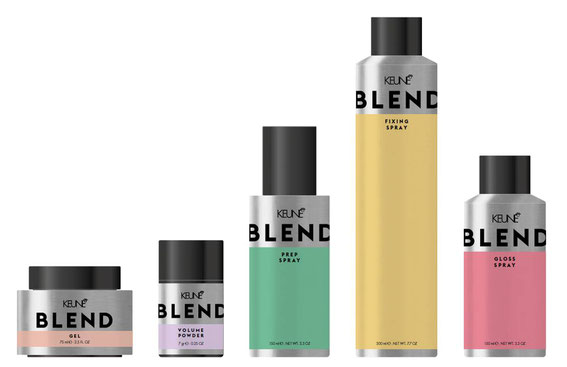KEUNE BLEND Styling Produkte keune Berlin jung stylisch hipster nightlife