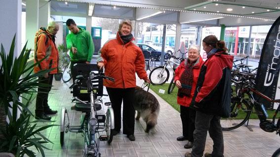 Kunden Dreirad Zentrum Kleve