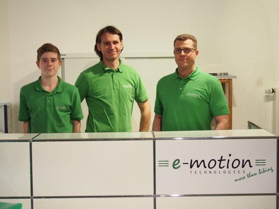 Team vom Dreirad-Zentrum Frankfurt