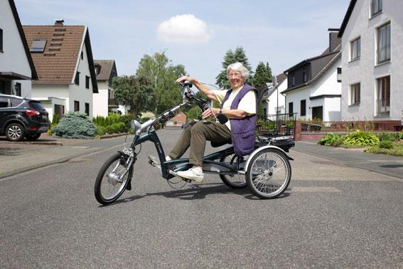 Dreirad Easy Rider für sportliche Dreiradfahrer