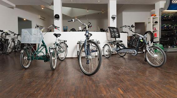 Neues Dreirad-Zentrum Hannover