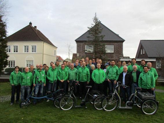 Dreiradhersteller Pfau Tec: Werksbesichtigung und Dreirad-Schulung