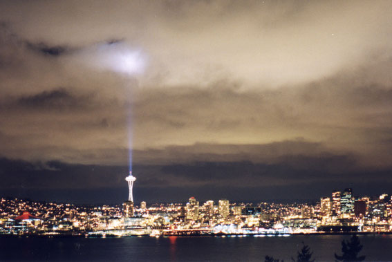 Space Needle SkyBeam 1999