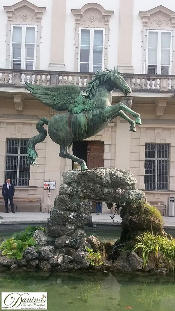 Schloss Mirabell - Pegasusbrunnen im Mirabellgarten
