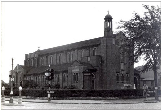 St Germain's in 1952 - image from Birmingham Images, Library of Birmingham website