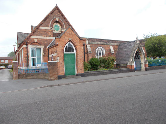 St Clement's Mission Hall still stands, used by Birmingham Victory Unity Centre. Image: Wikipedia
