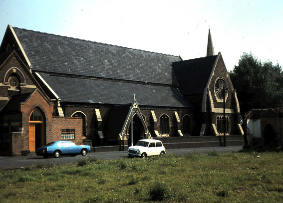 Thanks to Olwyn Powell for this photograph taken in the 1970s.