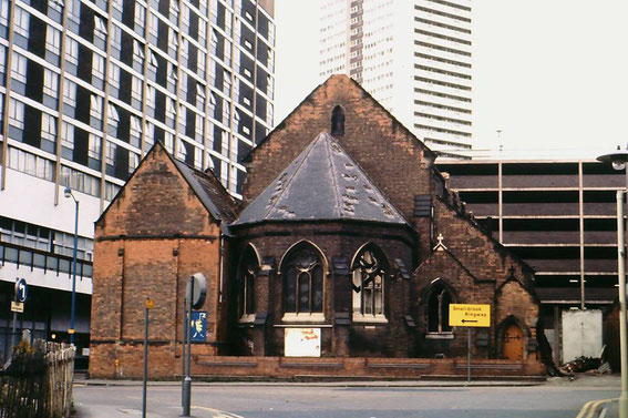 St Jude's c1970 - image posted by Dennis Williams on Birmingham History Forum Facebook group.