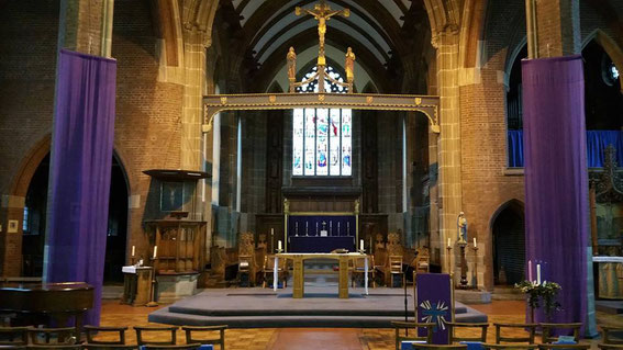 The chancel - image from St Andrew's Facebook page