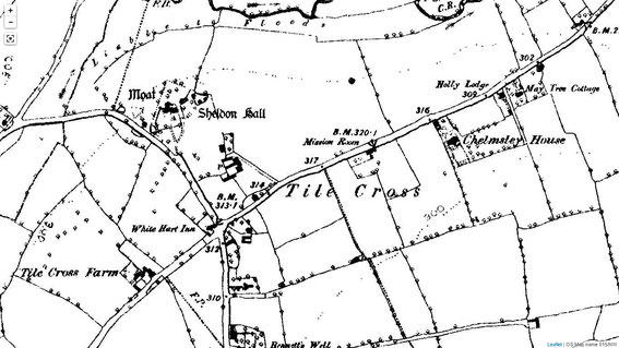 OS map 1884-1893 from British History Online - http://www.british-history.ac.uk/os-1-to-10560/warwickshire/015/nw