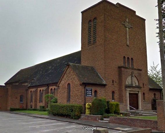 Christ Church, Burney Lane; image from Google Streetview