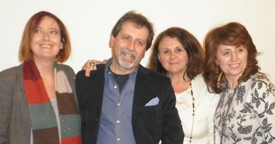 Sabrina Minetti, Maurizio Pellizzon, Ambretta Sampietro e Liana Righi