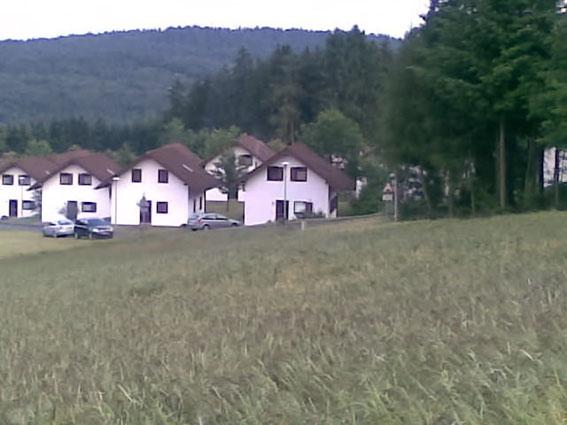 Aussicht vom Haus