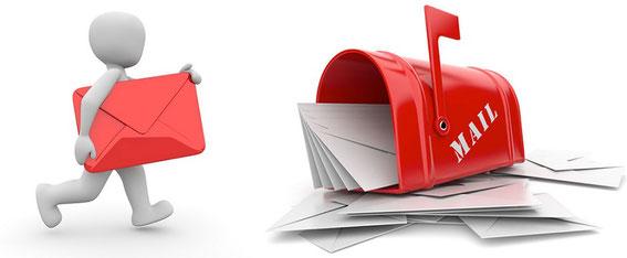 バーチャルオフィスの郵便転送