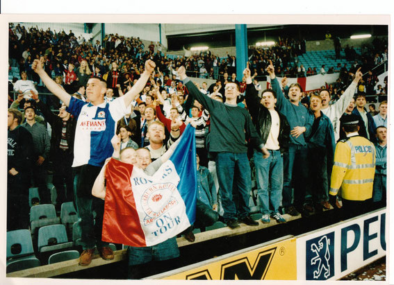 Rovers fans at Coventry, mid 90s