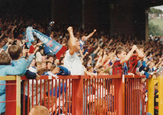 The Blackburn End v Manchester City, 1992.