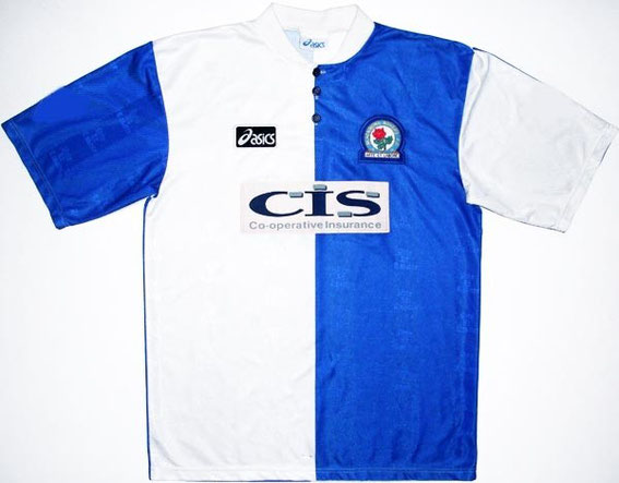 Worn as Rovers recovered from the departure of Alan Shearer to qualify for the UEFA Cup.