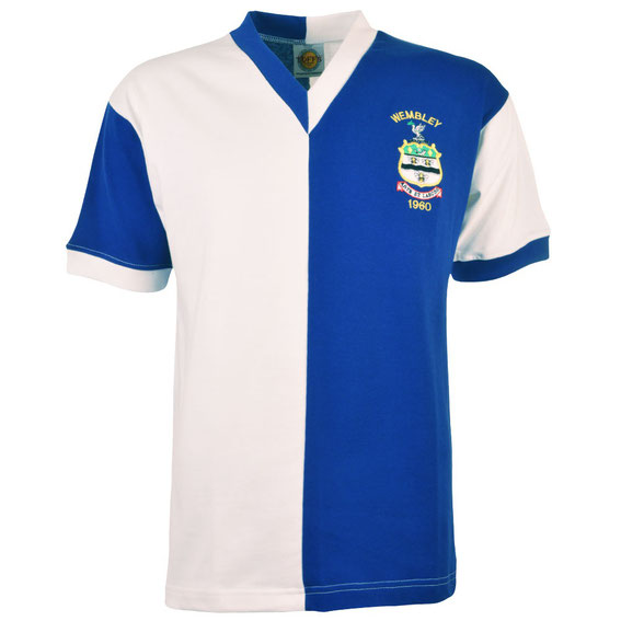 Worn during the disastrous 1960 FA Cup Final which saw Dave Wheelan stretchered off with a broken leg and Rovers down to 10 men in the days before sub's. Worn by club legends such as Clayton, Blackburn born Douglas,  Wheelan,  Dougan and Woods.