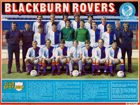 Blackburn Rovers; Blackburn Rovers 1983.