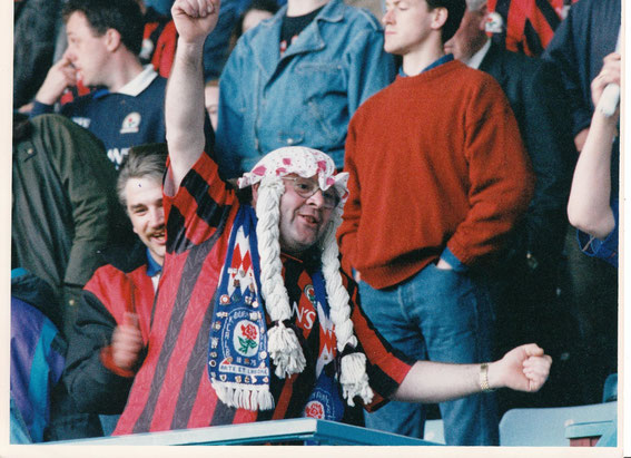 Rovers fans (and Birdy) mid 90s.