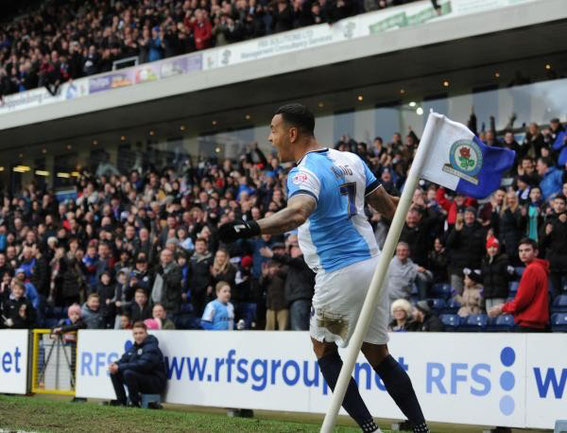 FA Cup Fifth Round, Saturday 14th February 2015, Ewood Park: Rovers 4 - 1 Stoke City.